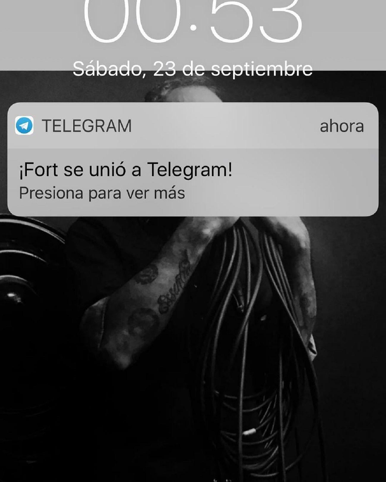 El extraño mensaje de Ricardo Fort a Jorge Rial