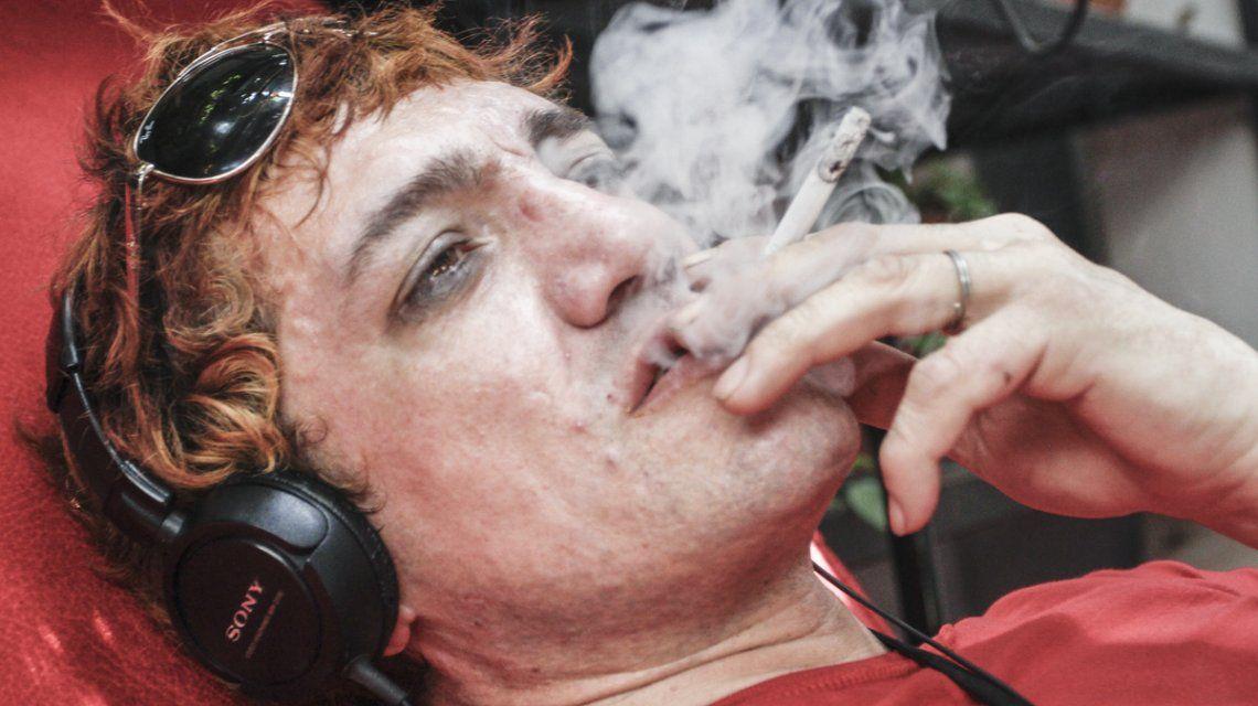 Apareció Pity Álvarez, irreconocible en un hostel de Tilcara
