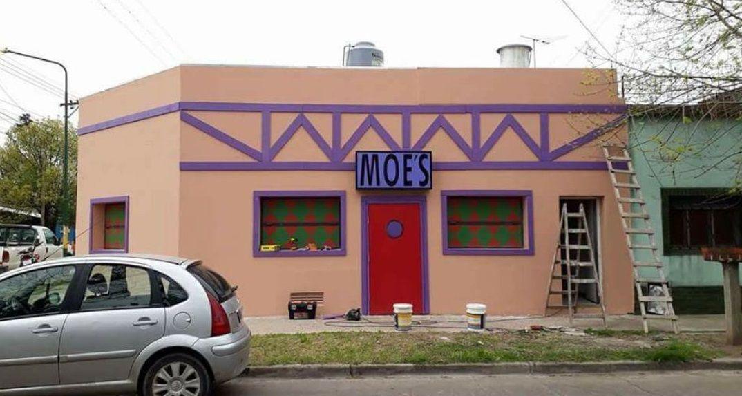 La taberna de Moe de Ituzaingó