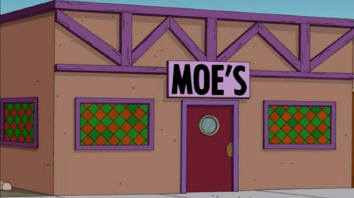 La taberna de Moe de Los Simpsons llegó a Ituzaingó: las fotos