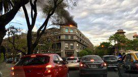 Se incendió  el departamento de Gustavo Sofovich
