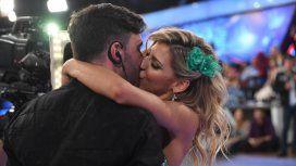 Federico Hoppe besó en vivo a Macarena Rinaldi