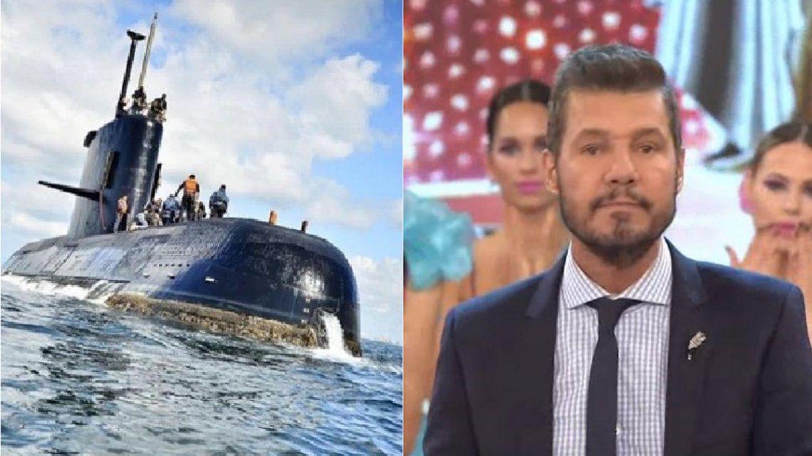 El submarino ARA San Juan y Marcelo Tinelli