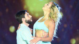 Gonzalo Gerber y Flor Vigna pusieron toda su sensualidad en la pista pero no les alcanzó
