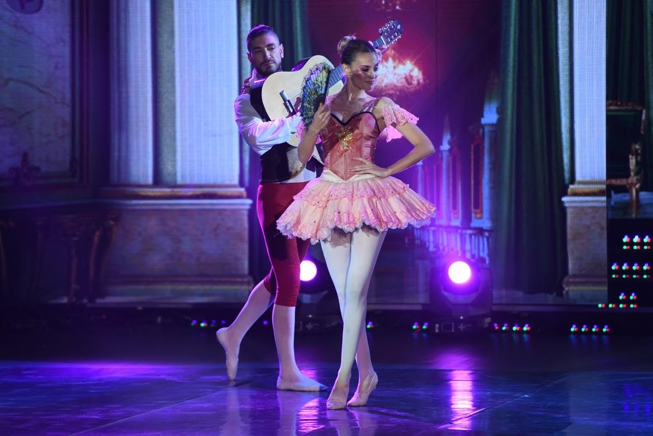 Melina Lezcano bailó