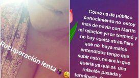Los mensajes de Instagram Stories de Morena Rial