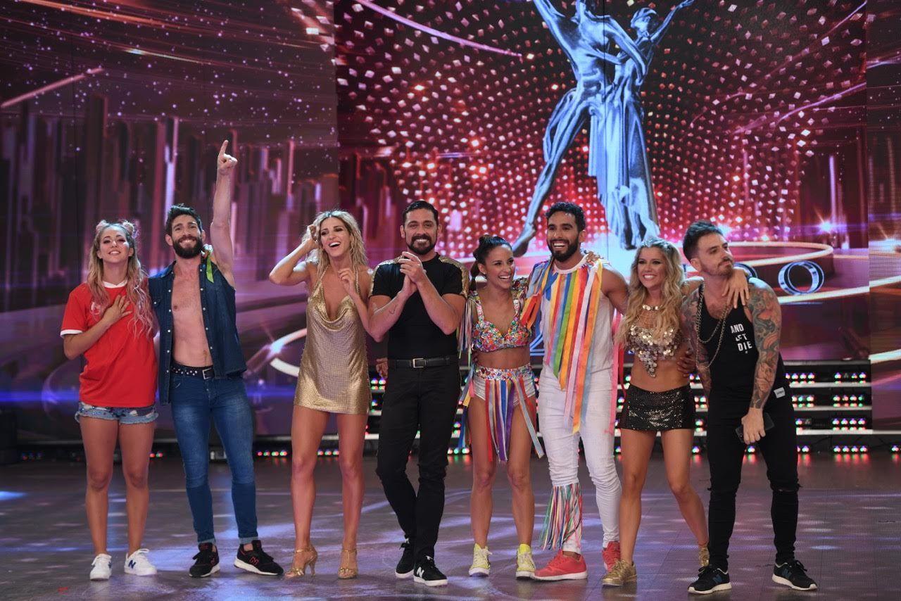 Los semifinalistas: Flor Vigna y Gonzalo Gerber