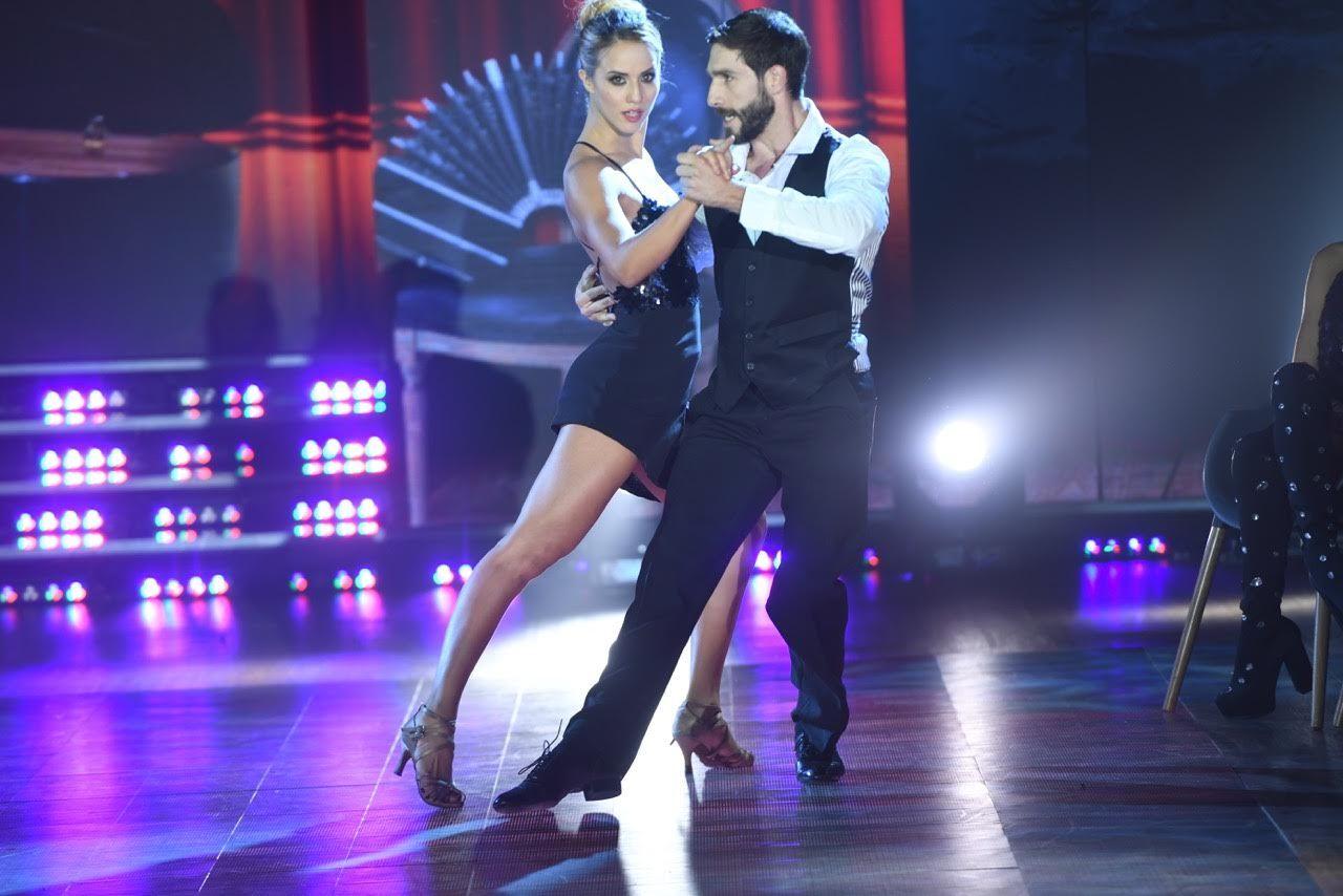 Flor Vigna irradió sensualidad en el tango