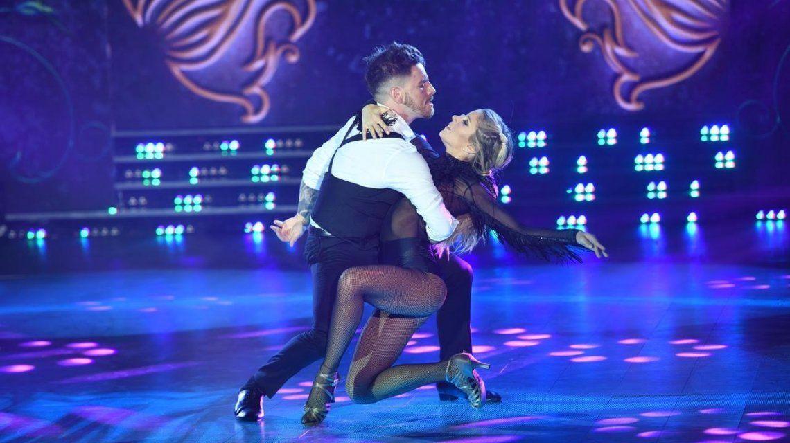 Fede Bal y Laurita Fernández y su sensual tango