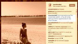 Mauro Zárate, hot y ¿desubicado? en Instagram por las fotos de su mujer