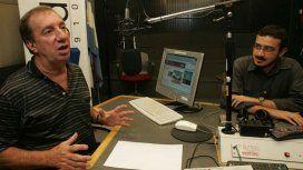 Carlos Bilardo, en su programa de radio