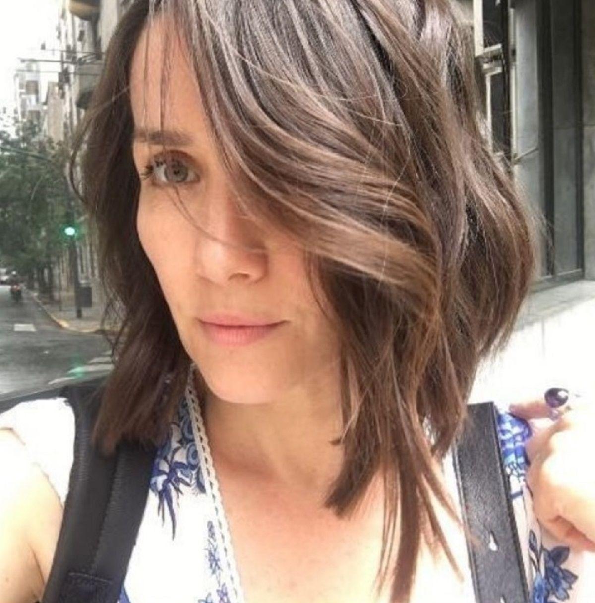 Natalia Oreiro y su cambio de look.