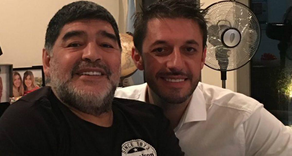 Maradona y Morla en Dubai