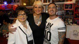 Anita Caputo, Carmen Barbieri y Fede Bal
