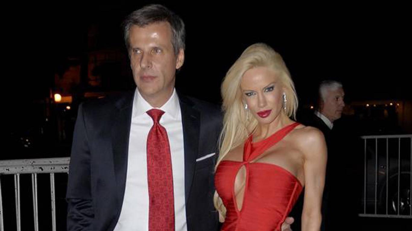 Martín Redrado y Luciana Salazar