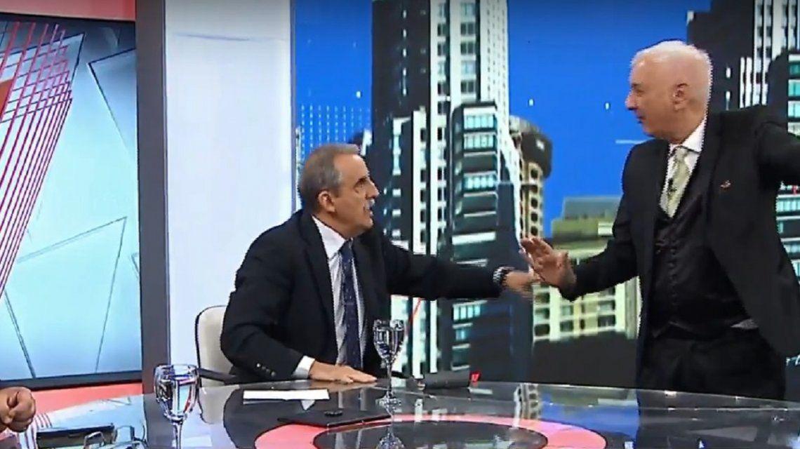 Pelea entre Guillermo Moreno y Eduardo Feinmann