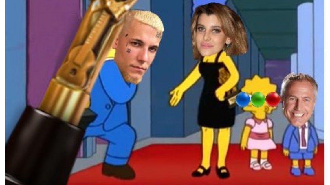 Durante la gala de los Martín Fierro estallaron los memes