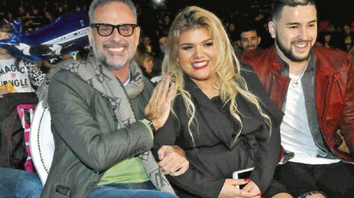 Jorge y Morena Rial