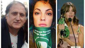 Mariano Obarrio, Dolores Fonzi y Violeta Urtizberea
