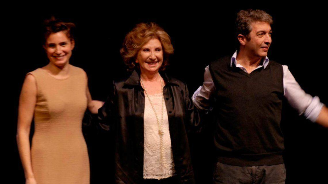 Aleandro defendió a Darín de las acusaciones de Bertuccelli