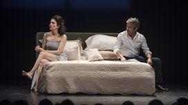 Erica Rivas y Ricardo Darín cuando protagonizaban Escenas de la vida conyugal
