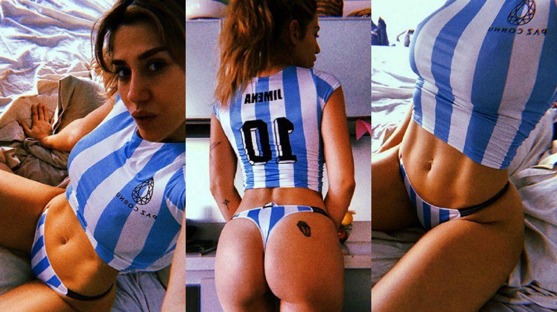El aliento de Jimena Barón a Selección Argentina