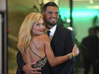 Eliana Guercio y Sergio Romero