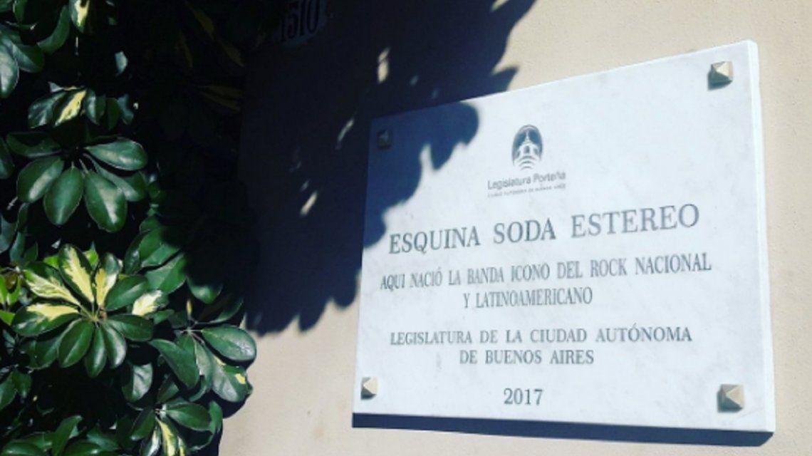 La legislatura quiso homenajear a Soda Stereo pero cometió un error increíble