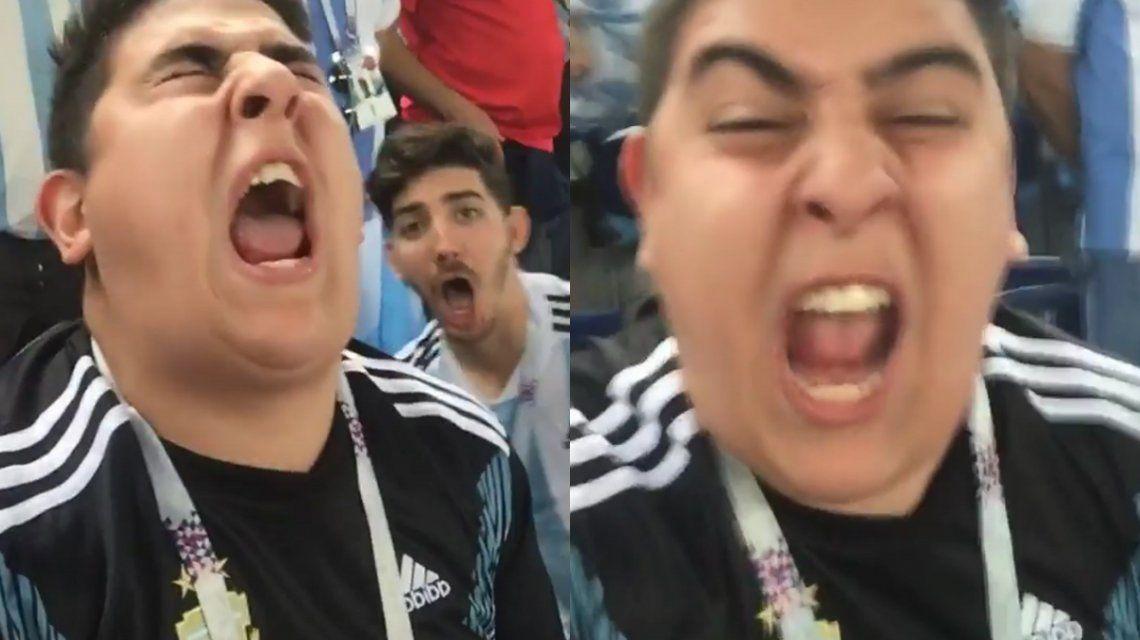 Traeme la copa Messi: los exabruptos del Chapu Martínez tras el triunfo argentino