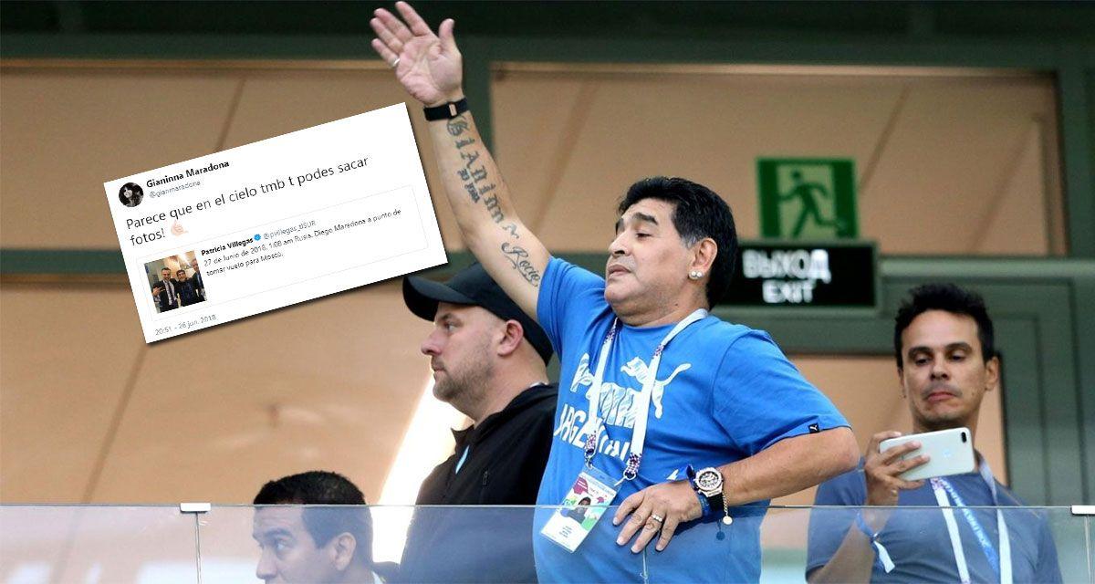 Las hijas de Maradona tuvieron que salir a desmentir la muerte de su padre