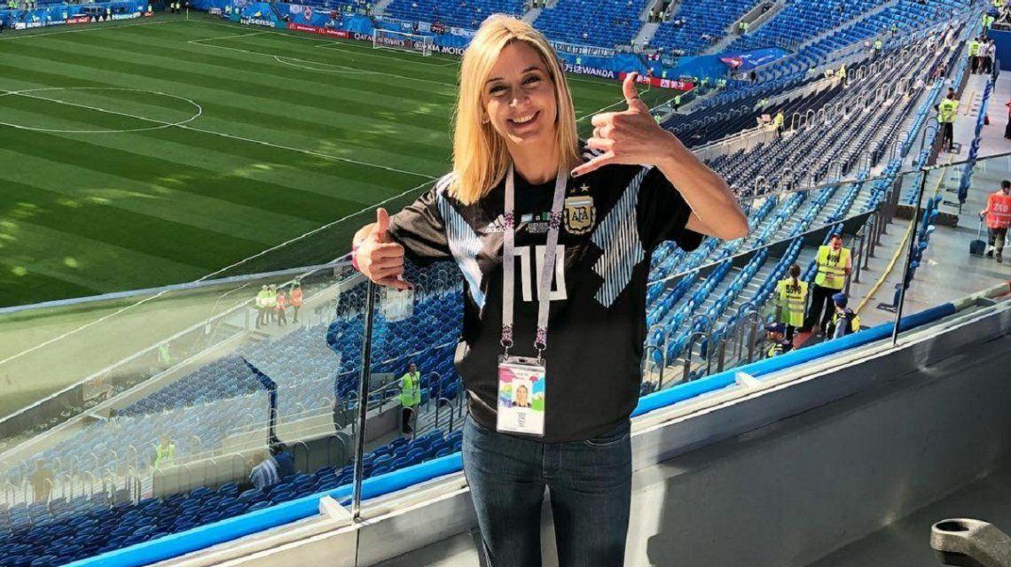 Mariela Fernández en Rusia