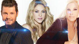 ¿Tinelli o Susana? Shakira estará en el programa de alguno de los dos conductores