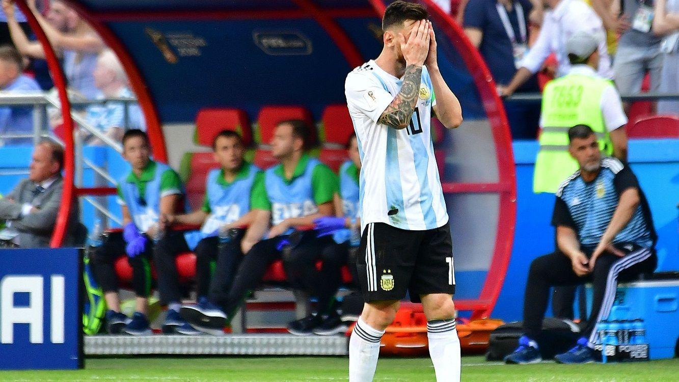 Nico Vázquez hablaba con Messi cuatro veces por día durante Rusia 2018