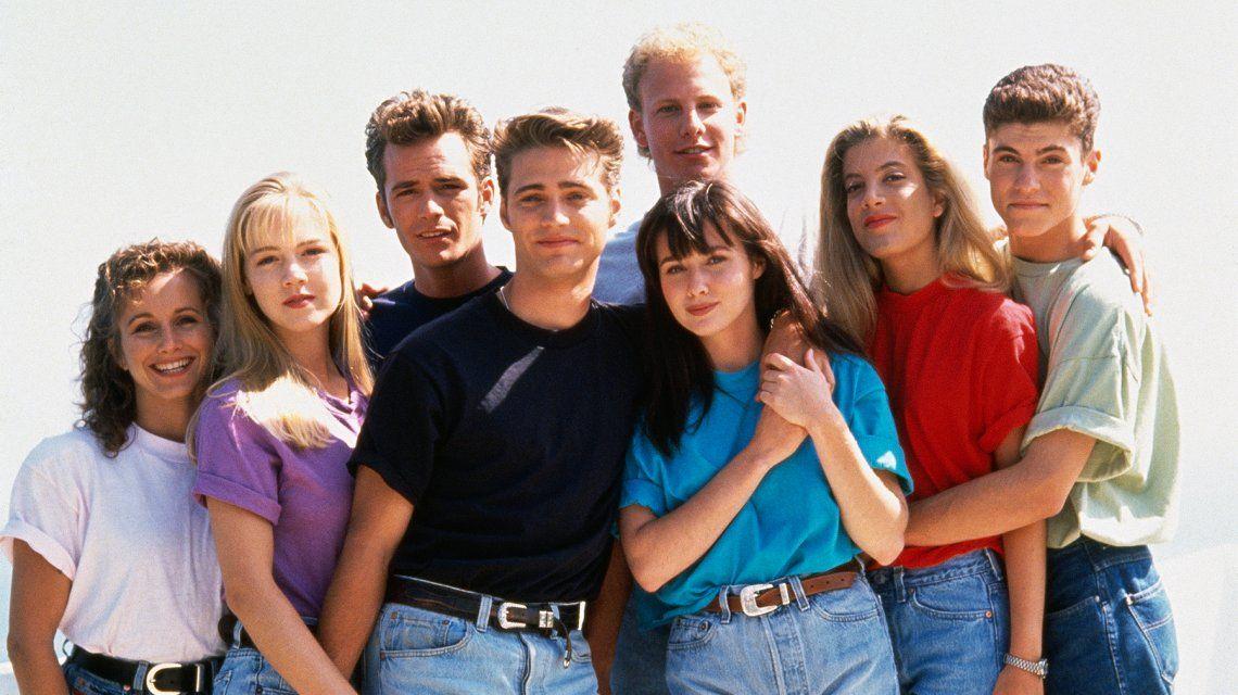 El elenco de Beverly Hills 90210