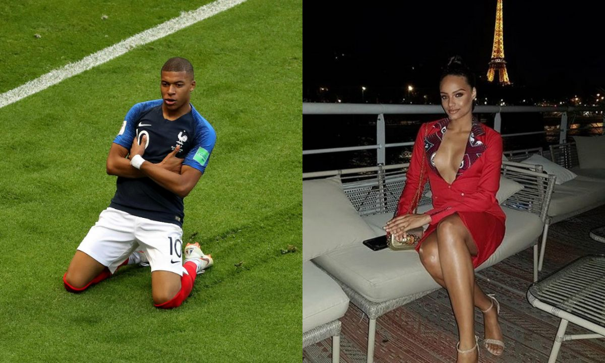 Mbappé y Miss Francia