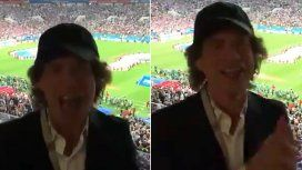 Mick Jagger sigue sin poder ver ganar a Inglaterra en la cancha