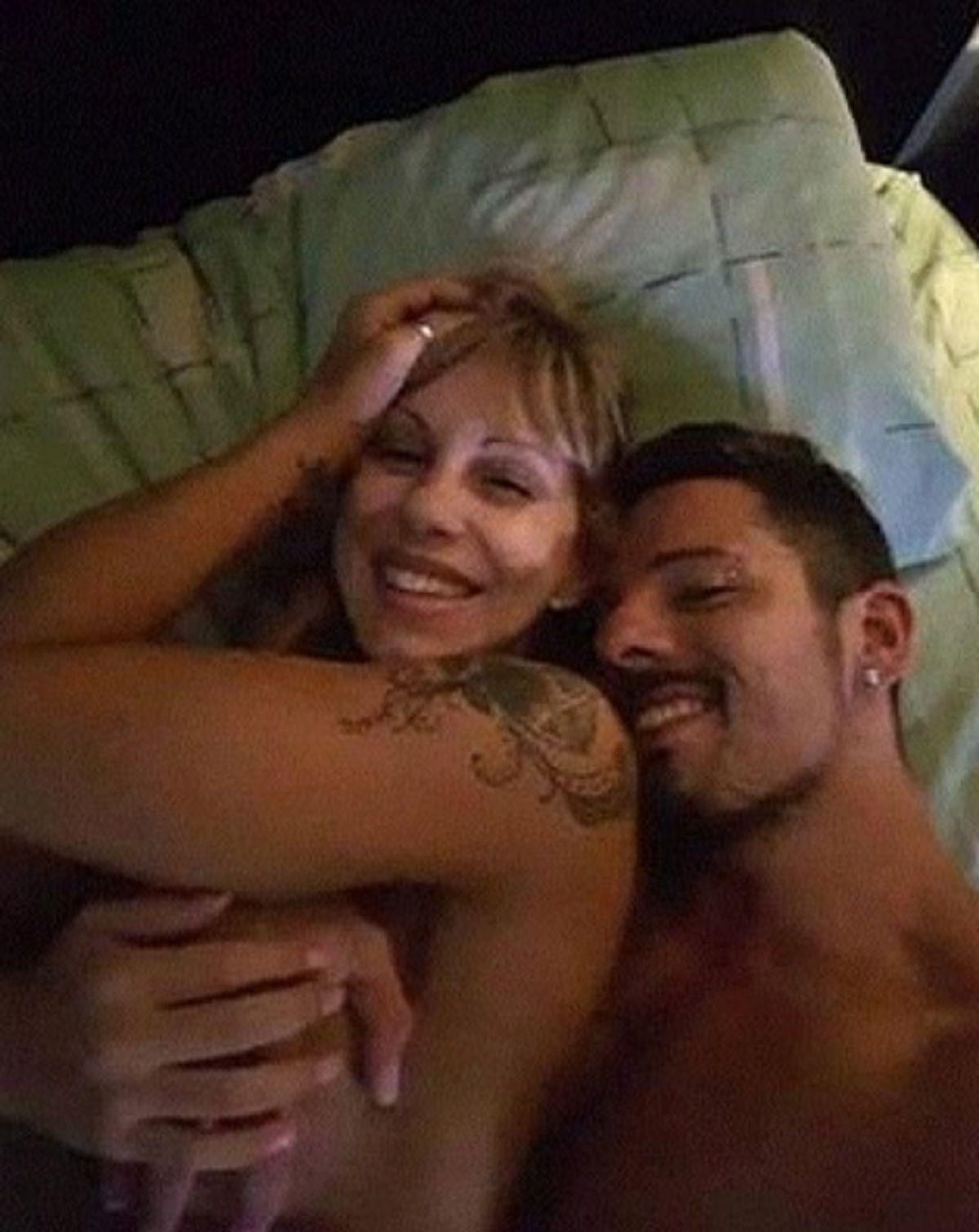 Mónica Farro y su novio - Crédito: Instagrammonica.farro.oficial