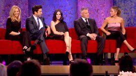 Jennifer Aniston con los Friends, falta Matthew Perry, en la última reunión del grupo