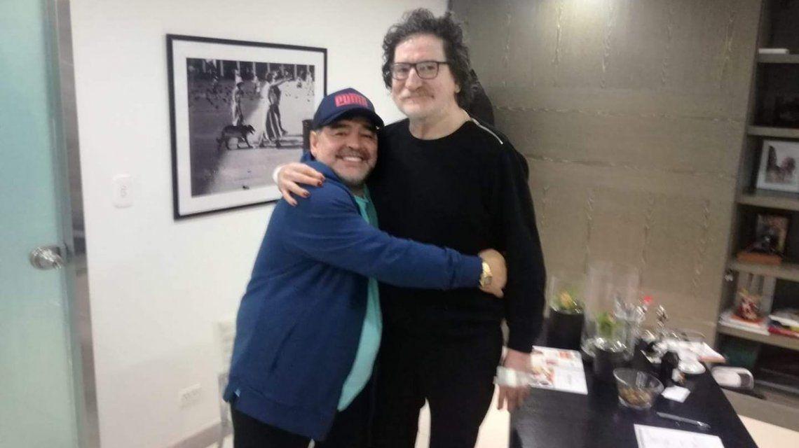 Diego Maradona y Charly García