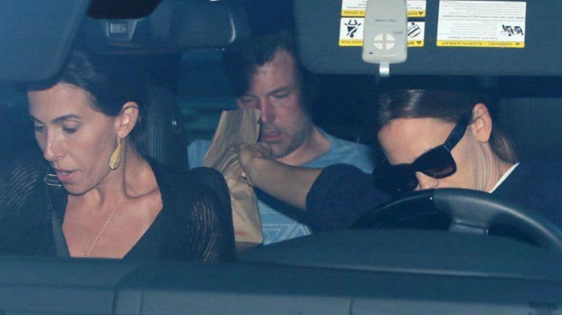 Garner llevó a su ex marido a una clínica de rehabilitación