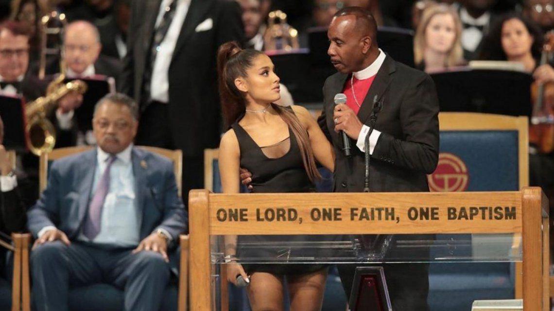 Escándalo en el funeral de Aretha Franklin