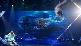 Homenaje en ShowMatch a los héroes del ARA San Juan