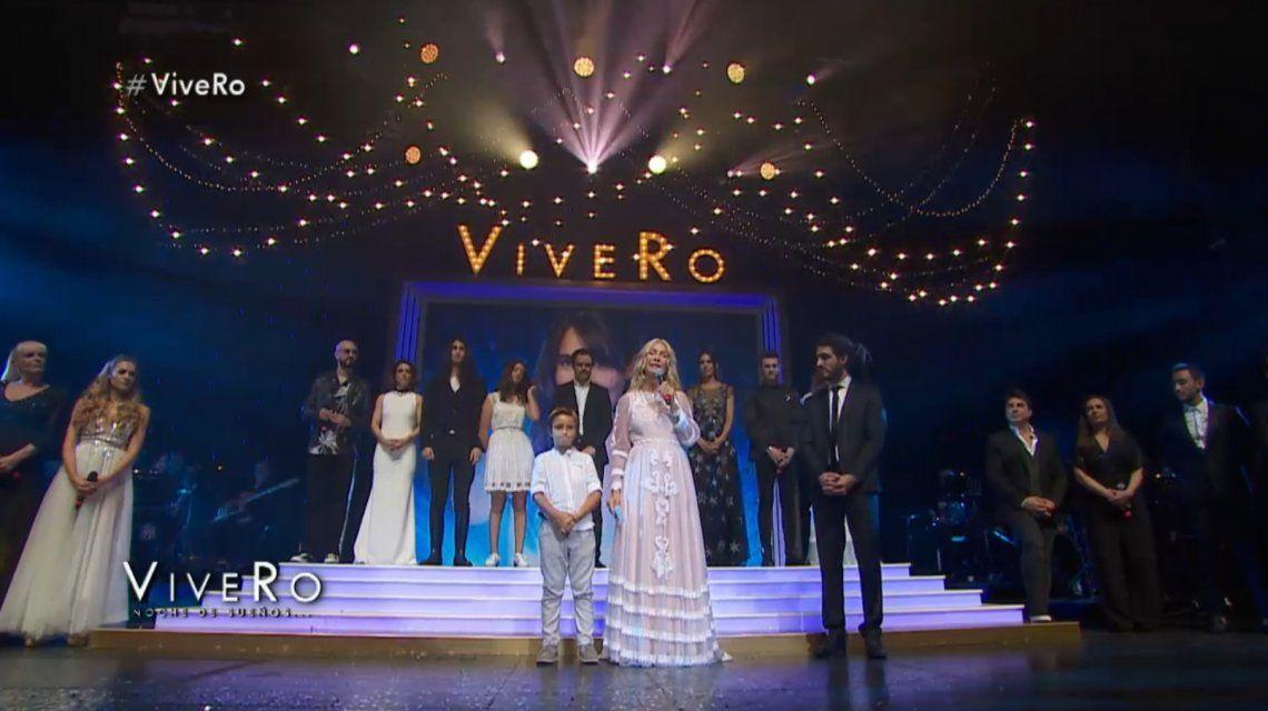 Cris Morena conmovió en el cierre del ViveRo