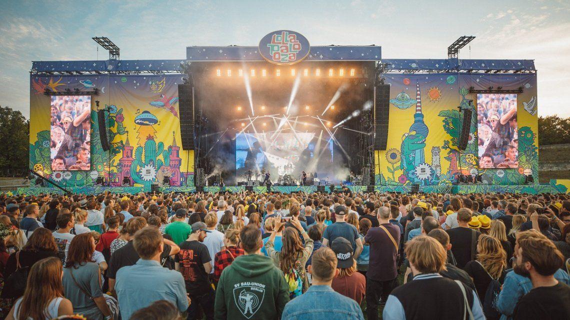 Berlín estalló con una nueva edición del Lollapalooza
