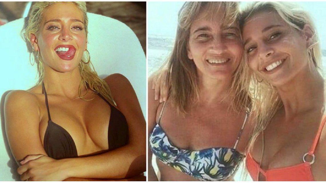 Sol Pérez mostró el parecido con su madre.