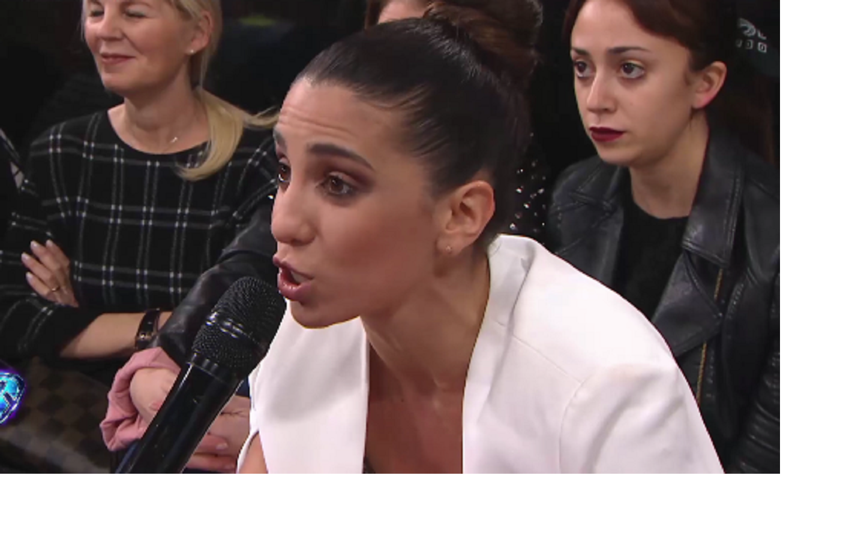 Cinthia Fernández le dijo de todo a Laurita en ShowMatch