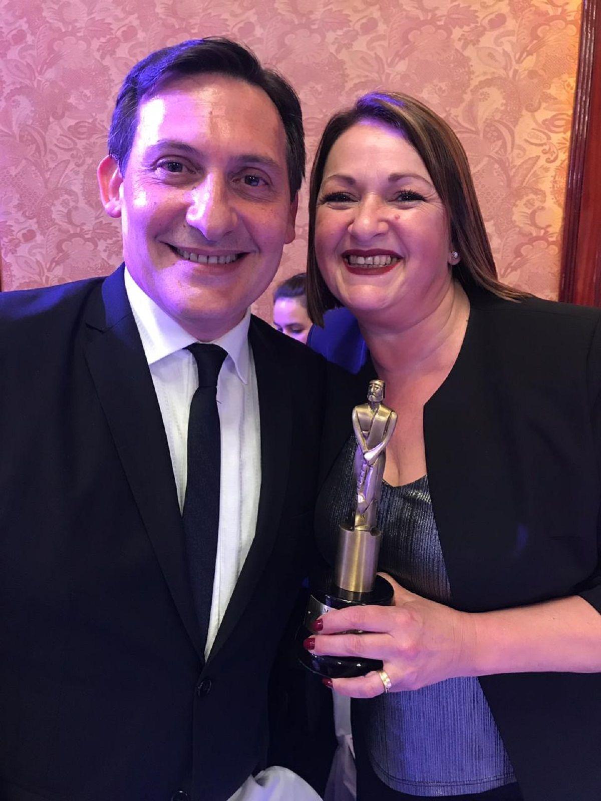 Martín Fierro de Cable: Paulo Kablan ganó el premio a la mejor labor periodística masculina