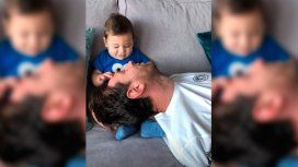Messi, divertido junto a Ciro