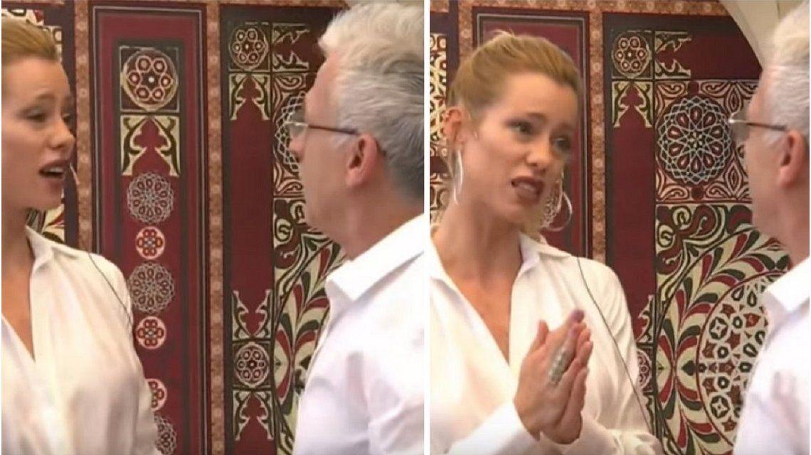 Romano sorprendió a Nicole Neumann con su defensa de Fabián Cubero