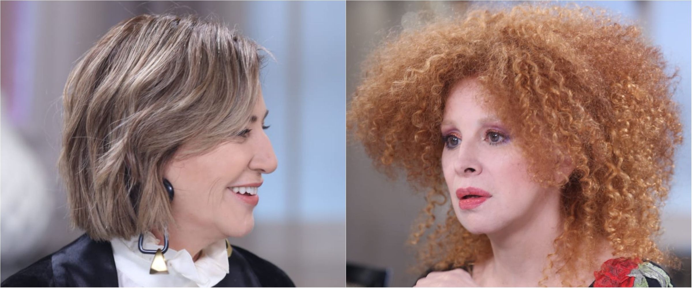 Mercedes Morán y Nacha Guevara